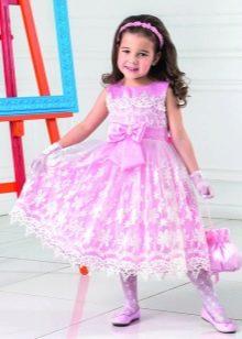 Нарядное выпускное платье для девочки