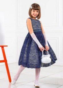 Нарядное платье для девочки 10-12 лет кружевное