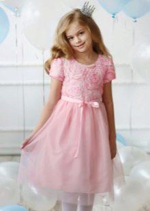 Нарядное платье для полной девочки