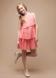 Платье в стиле ретро для девочки 12 лет