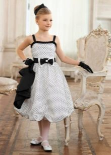 Платье в стиле 60-х для девочки 11 лет