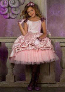 Платье пышное короткое для девочки 12 лет
