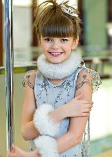 Меховые украшения для девочки 11 лет