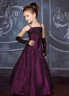 Вечернее платье для девочки 11 лет