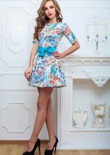 Цветное платье для подростков