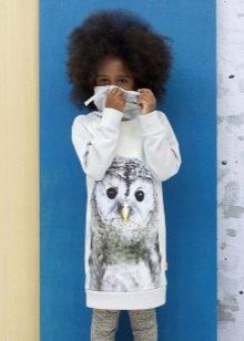 Зимнее платье для девочки 10-12 лет