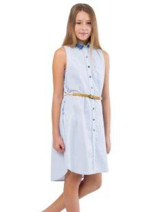 Платье для девочки 15-16 лет джинсовое