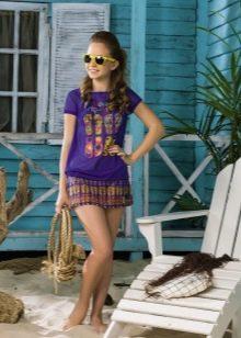 Платье-туника для девочки 10-12 лет