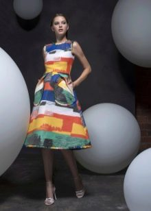 Платье для девочки 15-16 лет А-силуэта