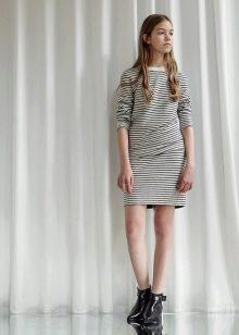 короткое платье для подростка