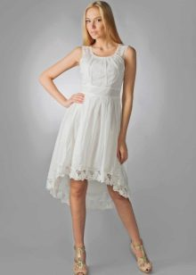 белое платье из батиста
