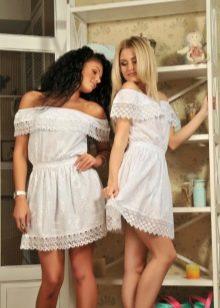 мини-платья из батиста