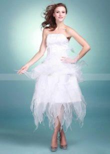 легкое платье из органзы