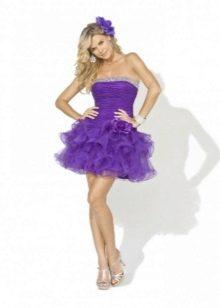 платье-пачка из органзы