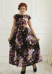 нарядное платье из поплина