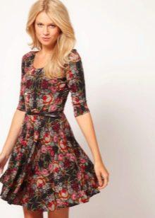 летнее поплиновое платье