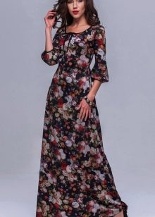 легкое платье из поплина