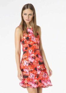 летнее платье из поплина