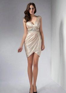 летнее нарядное платье из сатина