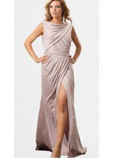стильное летнее сатиновое платье