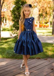 Коктейльное платье на выпускной 4 класс