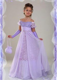 Длинное платье на выпускной 4 класс