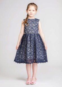 Кружевное платье на выпускной 4 класс