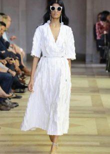 Белая обувь к белому платью