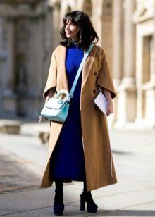 Длинное пальто к длинному платью