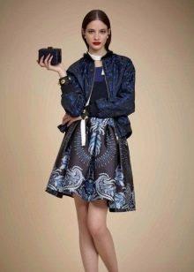 Куртка к синему платью