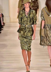 Пиджак к зеленому платью