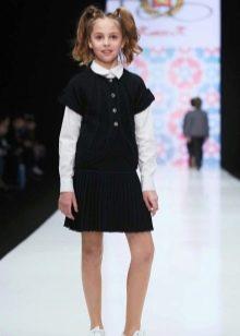 Школьное платье-футляр для девочек