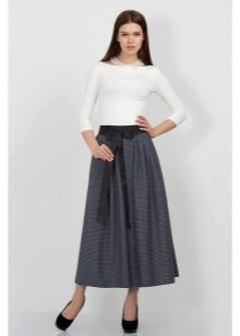 строгая летняя юбка