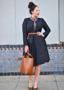 юбка в деловом стиле для полных женщин