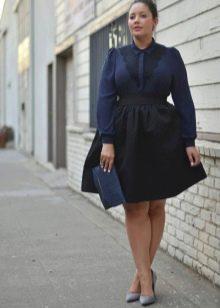 черная пышная юбка на каждый день