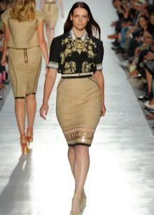 юбка-карандаш для полных женщин от кутюр