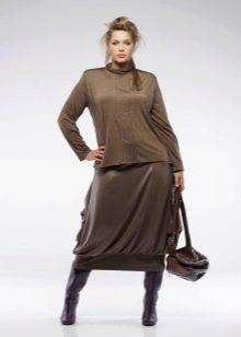 юбка-баллон для полных женщин