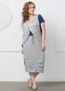 оригинальная юбка для полных женщин