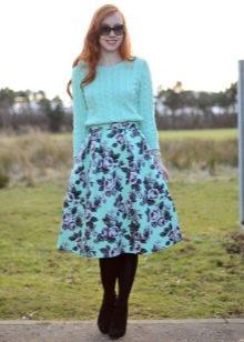 А-образная юбка для девушек с фигурой типа Груша