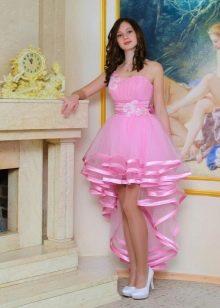 Коктейльное платье для девочки хай-лоу