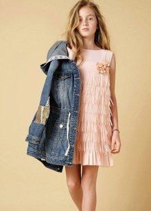 Коктейльное платье для девочки в стиле 20-х