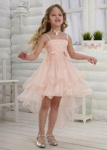 Шифоновое коктейльное платье для девочки