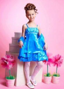Коктейльное платье для девочки ампир