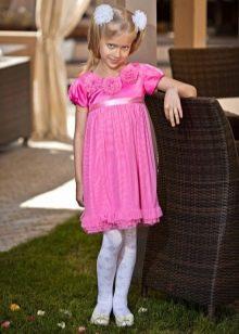 Коктейльное платье для девочки ампир короткое