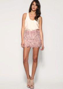 Мини юбка для лета