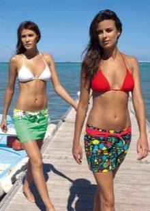 микро юбки для пляжа