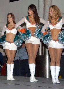 белая спортивная микро юбка