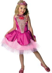 Новогоднее платье для девочки короткое