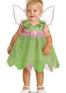 Новогоднее платье для маленькой девочки