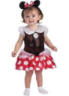 Новогоднее платье для девочки 2 лет Микки Маус